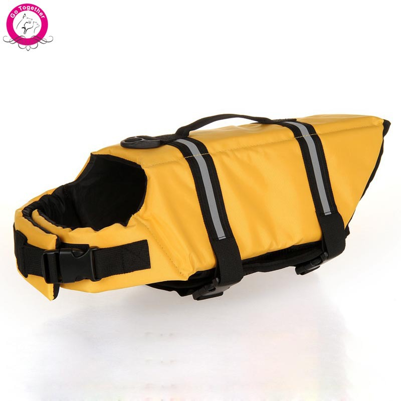 Oxford Breathable Mesh Pet Dog Life Jacket Summer Dog Swimwear Puppy Life Vest Safety Clothes For Dogs XXS-XXL(China (Mainland))