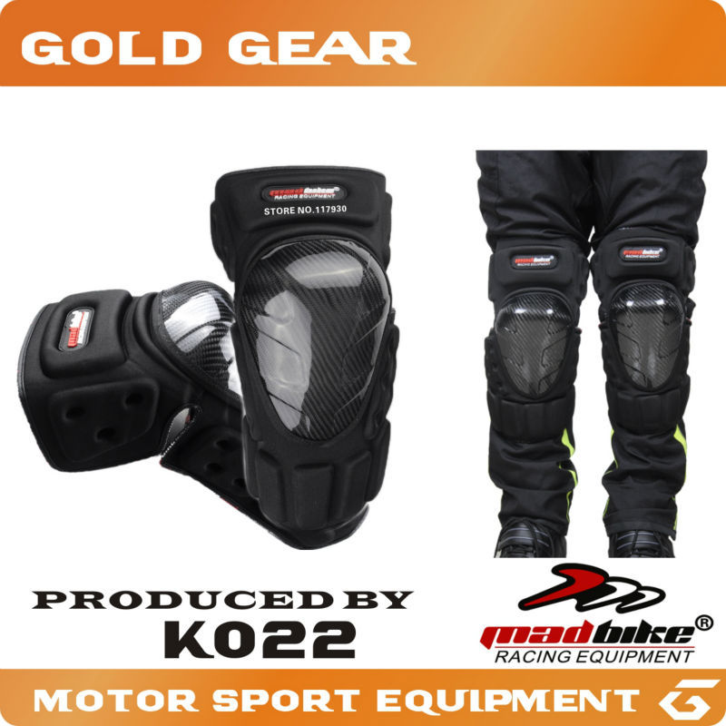 Motorcycle Protective kneepad Motorcycle Knee protector Carbon Fiber High Quality Motorcycle Sports Racing Knee Protective pad(China (Mainland))