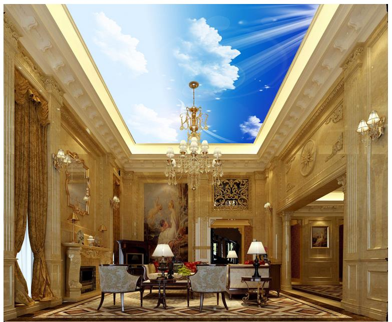 Online get cheap ceiling wallpaper murals for Cheap wallpaper mural