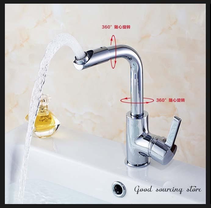 Bacia torneira da pia de água quente e fria, Cozinha e banheiro torneira, Tor -> Casas Da Agua Pia De Banheiro