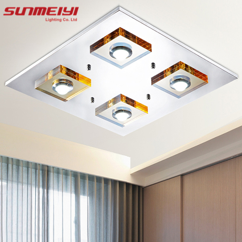 2016 Modern Brief Led Ceiling Lights Fixture for Living Room lamparas de techo Led Ceiling Plafond Lamp Home Decoration(China (Mainland))