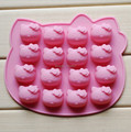 Free shipping 1 PC Hello Kitty silicone cake mold silicon mould decorating tools kitchen accessories