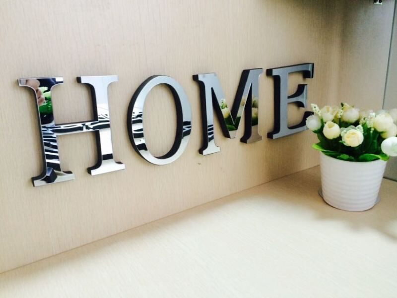 wedding love letters home decoration english 3d
