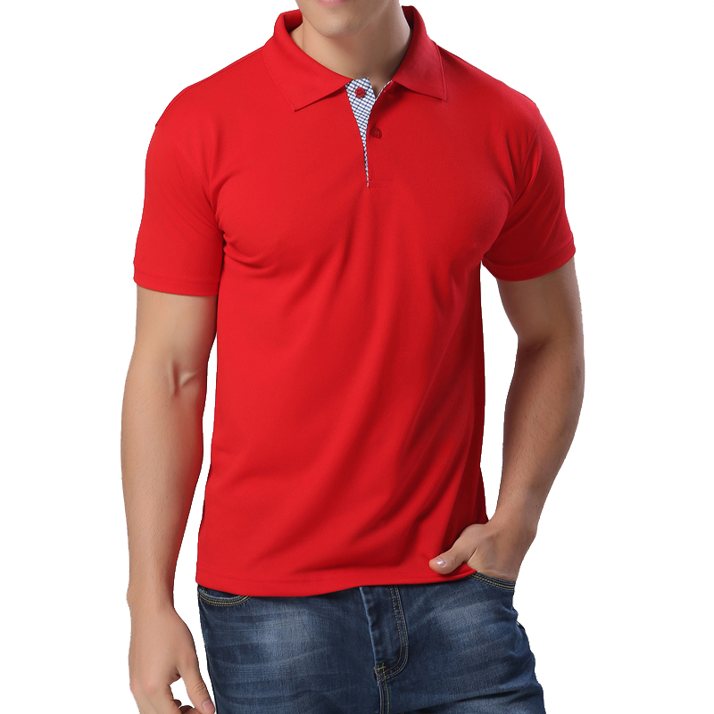 New 2017 Men's Fashion Brand Polo Shirt Men solid Business & Casual Polos Men Cotton Blends Short Sleeve Summer shirt pullover