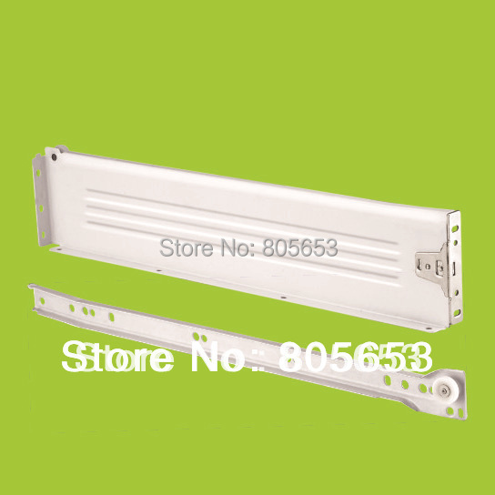 new short leading time 86mm high metal box steel panel drawer slide (DS6111-12)(China (Mainland))