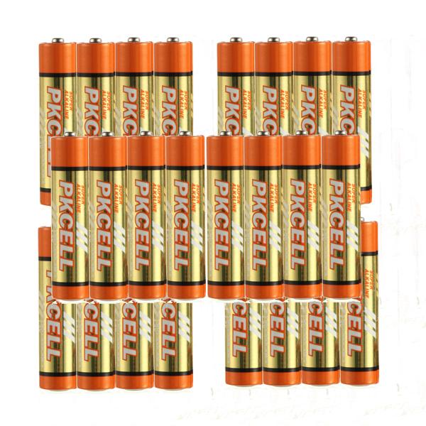50pcs AAA Batteries 1.5v LR03 3A single use battery dry batteries CA FAST SHIPPING(China (Mainland))
