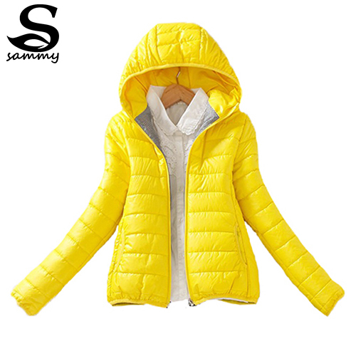 8-color upgrade edition 2014 super warm winter parka jacket coat ladies women jacket Slim Short padded women sammy548(China (Mainland))