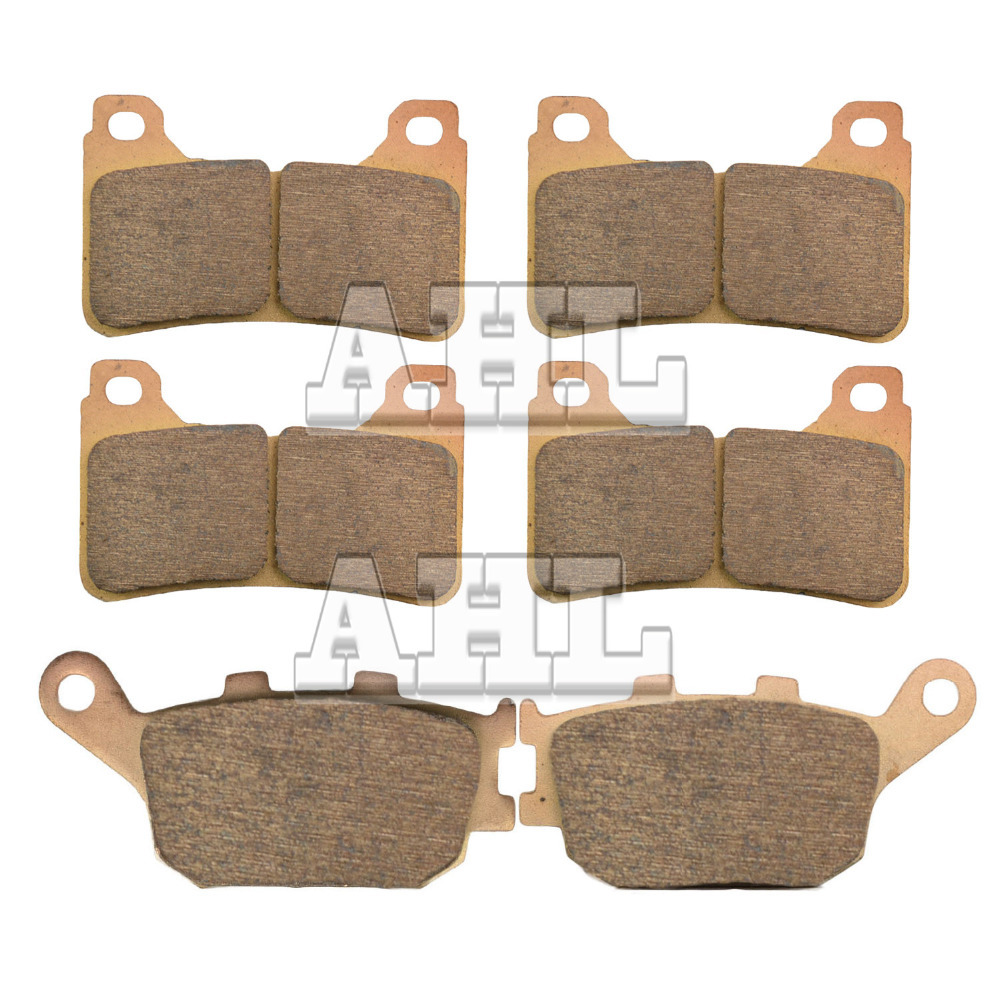 Motorcycle Parts Copper Based Sintered Motor Front Rear Brake Pads For Honda CBR600RR CBR 600RR CBR600