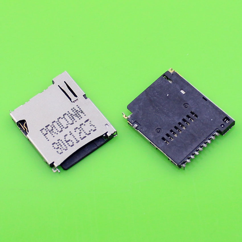 High quality TF card and micro SD card socket holder slot connector for many smart mobile phone.(China (Mainland))