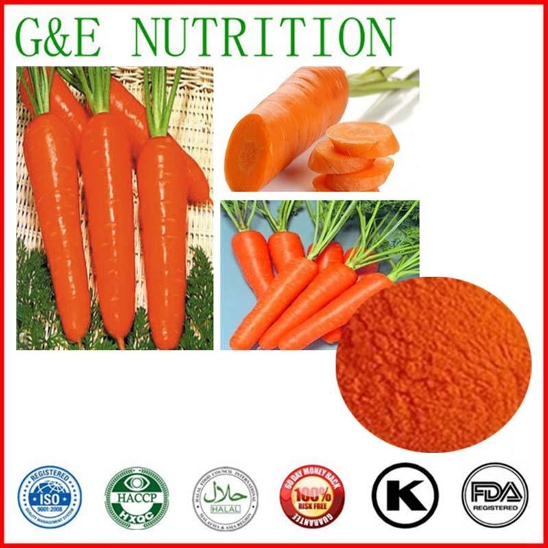 Carrot Powder Extract/Carrot Extract beta Carotene Powder 400g<br><br>Aliexpress