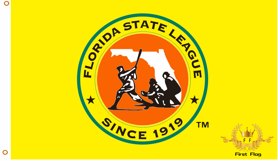 Custom flag Florida baseball league flag 3X5FT 90x150cm 100% Polyester free shipping MLB banner(China (Mainland))