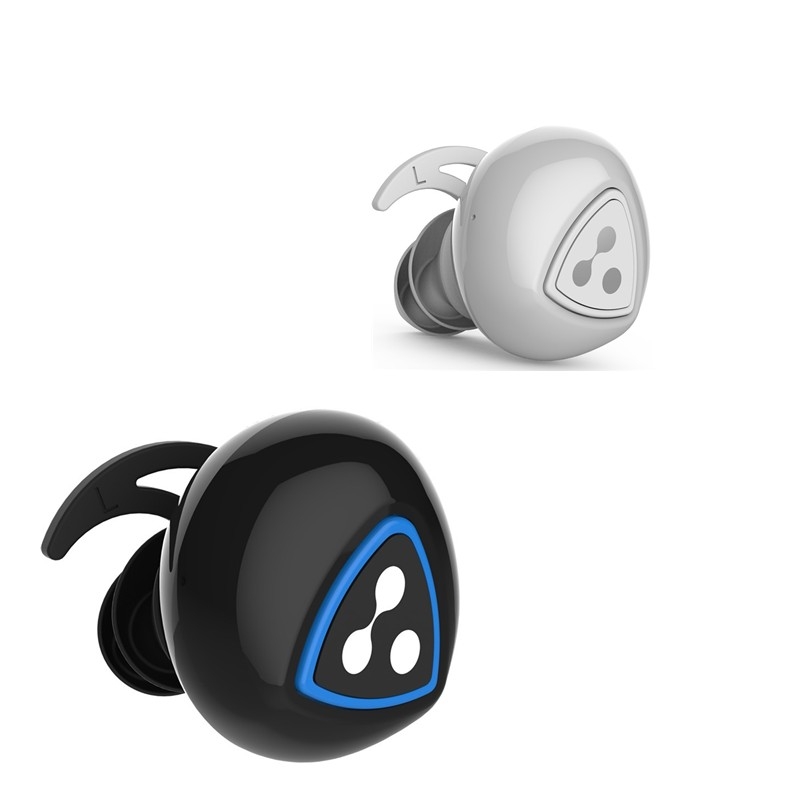 Фотография Syllable D900 eardphone Wireless Bluetooth 4.0 Sports in-earphone With Charging Stand For Android/ios/ipad/Tablet Black / White