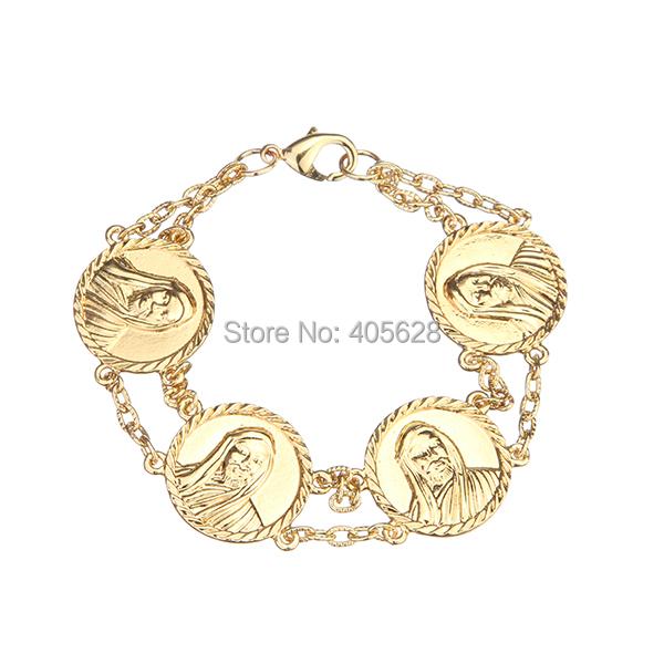 Jesus Face fashion link bracelet(China (Mainland))