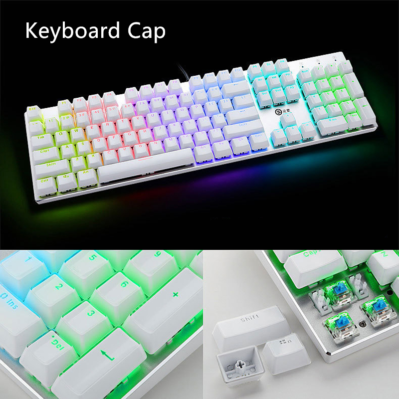 DIY Gamer gaming keyboard caps Crystal keycap 104 standard key combination mechanical keyboard keycap For Razer Keyboard(China (Mainland))