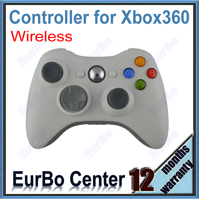 EurBo Wireless Game Controller for Xbox 360 (White)<br><br>Aliexpress