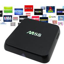 M8S Android TV Box Amlogic S812 Quad Core 2G/8G HDMI WiFi LAN AV Optical KODI Android Kit Kat Smart TV IPTV Set Top Box
