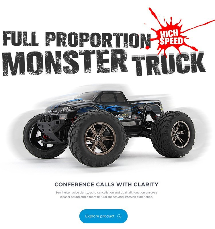 S911 1/12 Scale Supersonic RC Car Monster 2.4G 4CH Remote Control Toys with 2 Wheel Driven Electric Racing Truggy(China (Mainland))