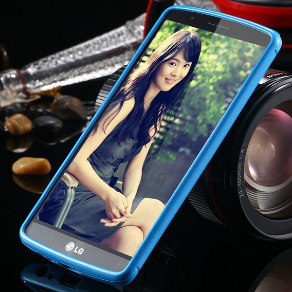 G3 Silicone Case for LG G3 D858 D859 Fresh Color Back Cover Frame Portable Carry Phone Shell Precise Hole Slim Case(China (Mainland))