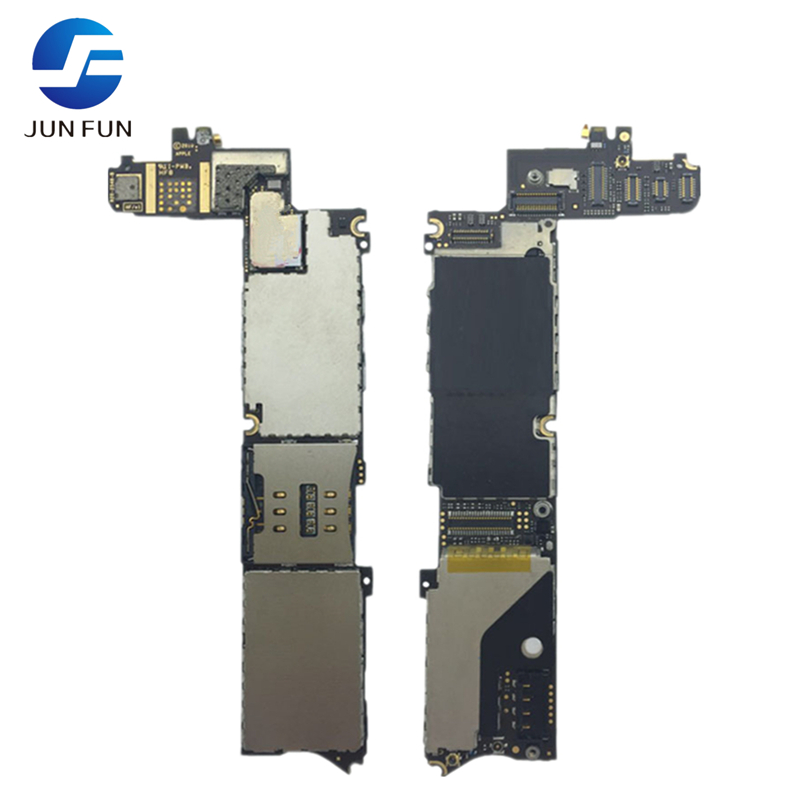 For iphone 4 Motherboard mainboard ,8GB Free shipping full function Unlocked & Tested With Full Chips Logic Board(China (Mainland))