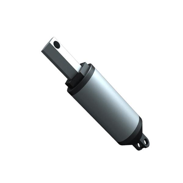 140mm/sec=5.6inch/sec speed 100N=10KG=22LBS load 150mm=6inch stroke 24V DC High speed linear actuator LA13