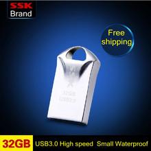 Сск SFD230 кымган 100% 32 гб USB 3.0 компактный мини USB флеш-накопитель ручка привод быстрая скорость usb-флеш-накопитель водонепроницаемый