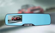 """Auto camera full HD 1080 P 4.3 """"wide Hoek 120 Graden auto dvr spiegel Dash Cam video recorder nachtzicht dashcam Gratis verzending"""