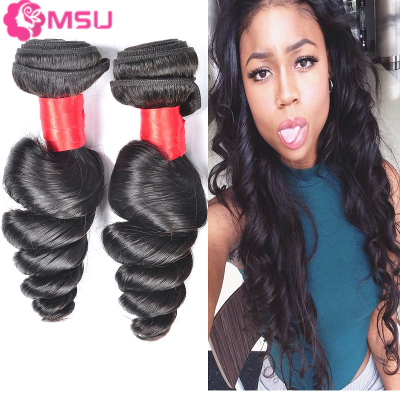 Virgin Peruvian Loose Wave 4pcs Lot 7A Unprocessed Peruvian Virgin Hair Loose Wave 4 Bundles Free Shipping Unice Hair Products