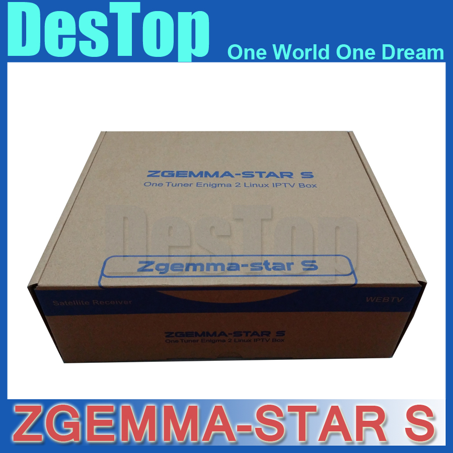 zgemma star S satellite receiver Linux Operating System hd twin tuner zgemma S1 DVB-S2 Tuner built-in free shipping by DHL 3pcs(China (Mainland))