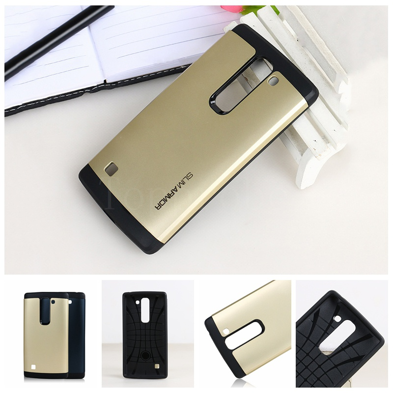 """New style Anti-knock SLIM ARMOR Case For LG Spirit C70 4.7"""" cell phone protective silicone cover for LG C70 13th +1pcs Film free(China (Mainland))"""