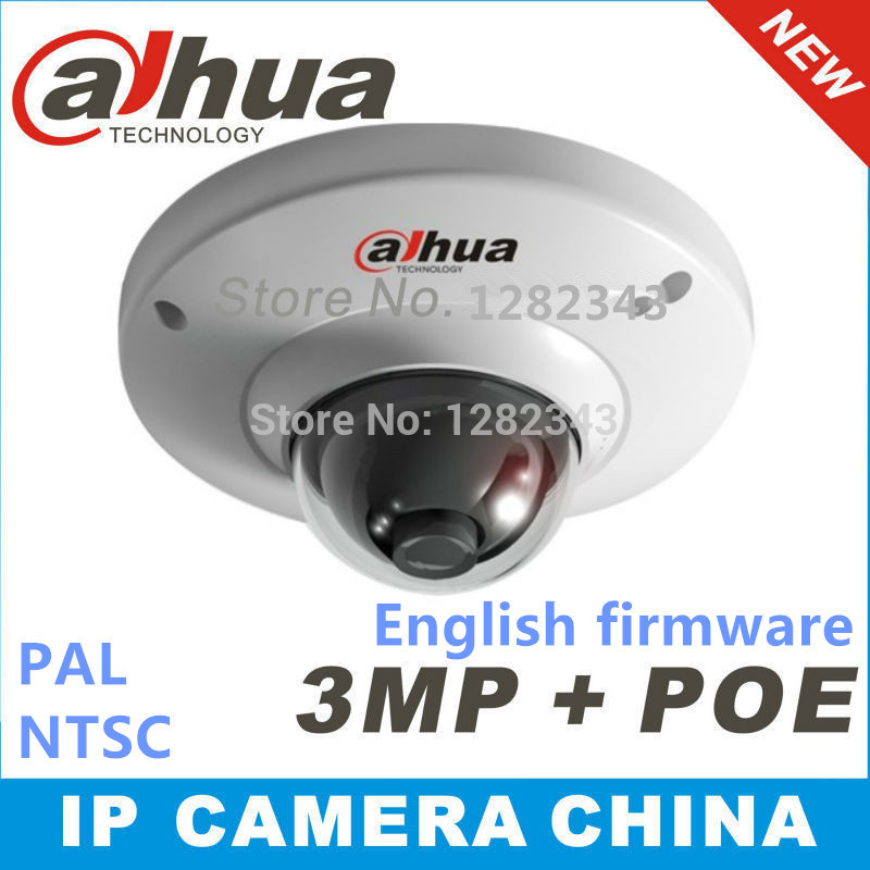 Dahua DH-IPC-HDB4300C Support SD card storage Waterproof IP66 network Dome IP Camera IPC-HDB4300C with POE english firmware(China (Mainland))