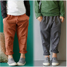 SL-123, children girls boys pants, sport trousers, casual pants, solid(China (Mainland))