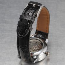 2015 fashion women dress watch luxury brand winner rhinestone hollow dial lady Automatic mechanical wrist watches