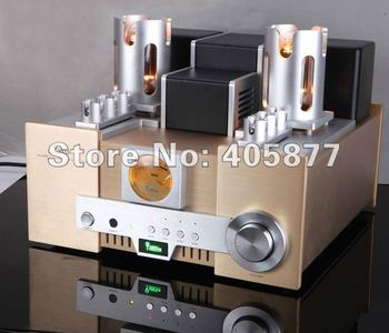2012 new YAQIN MS-650B 845 x 2 Vacuum Tube Hi-end Tube Integrated Amplifier