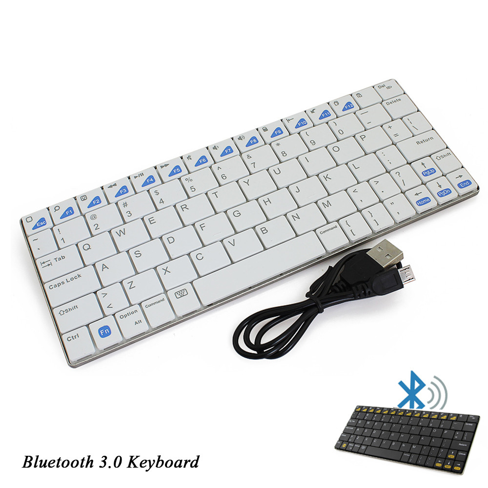 Ultra-slim Wireless Keyboard Bluetooth 3.0 Keyboard for iPad Series OS System Wireless Keyboard Air Mouse Keyboards full keys(China (Mainland))