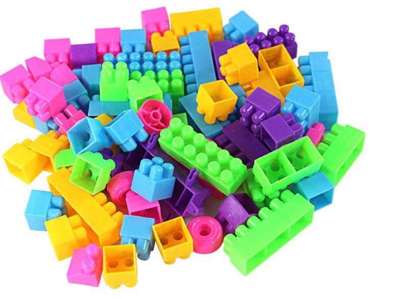280 Pcs Lot Big Plastic Building Blocks Toys Plastic