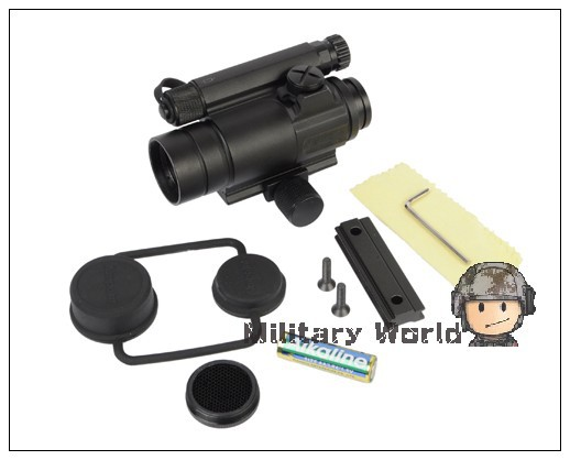 2pcs lot Airsoft Tactical Hunting Shooting Aimpoint Red And Green Dot Sight M4 Collimator Sight Scopes