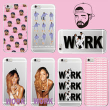 Buy 1 800 Hotline Bling Call Rihanna Drake Work Soft TPU Case Cover Coque Funda iPhone 7Plus 7 6Plus 6 6S 5 5S 4 4S Galaxy S7 for $1.43 in AliExpress store