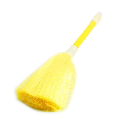 Yellow Soft Bristle Car Computer Brush Fan Blade Dust Dirt Removing Cleaner Cleaning Brush(China (Mainland))