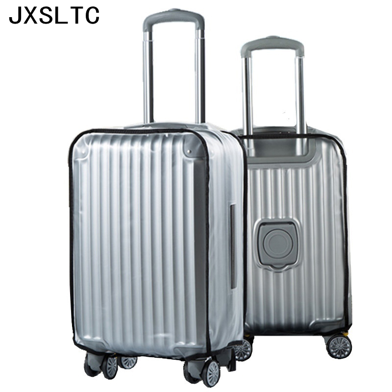 New High Quality PVC Matte Transparent Waterproof Suitcase Protective Cover Travel Luggage Trolley Case Thicker Wear Dust Covers(China (Mainland))