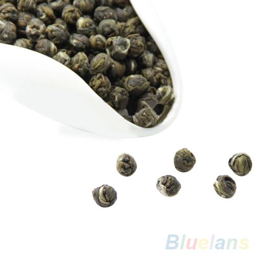 100g Chinese Organic Premium Jasmine Dragon Pearl Ball Natural Green Tea 2MZ1