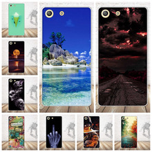 Buy Soft Silicon Case Sony Xperia M5 Dual E5633 E5603 E5606 E5653 New Flower Skull Fashion Gel Cover Sony Xperia M5 Case for $1.05 in AliExpress store