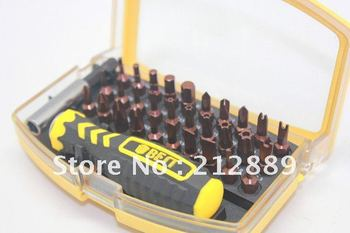 Free shipping 32 in 1 Multi-Bit  mini  Precision Torx Screwdriver set Tools Repair Hardware Kit  for cell phone computer