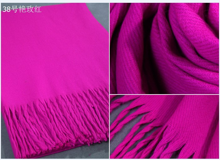 Hot Selling Fashion New Winter Chinese Women's Cashmere Shawl Scarf Thick Warm Wrap Free Shipping WS009-Y(China (Mainland))