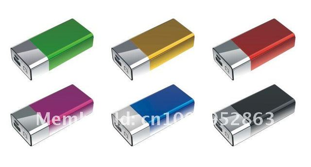 High capacity 4000mAh Portable Power bank Uv coating for iPhone/iPad/mobile/phone/PSP/DV,Free Shipping
