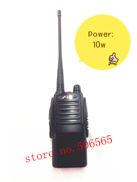 New arrivel 10w biggest power two way radio /walkie talkie FM transceiver FD-850PLUS 3500mAh battery UHF Freeshipping