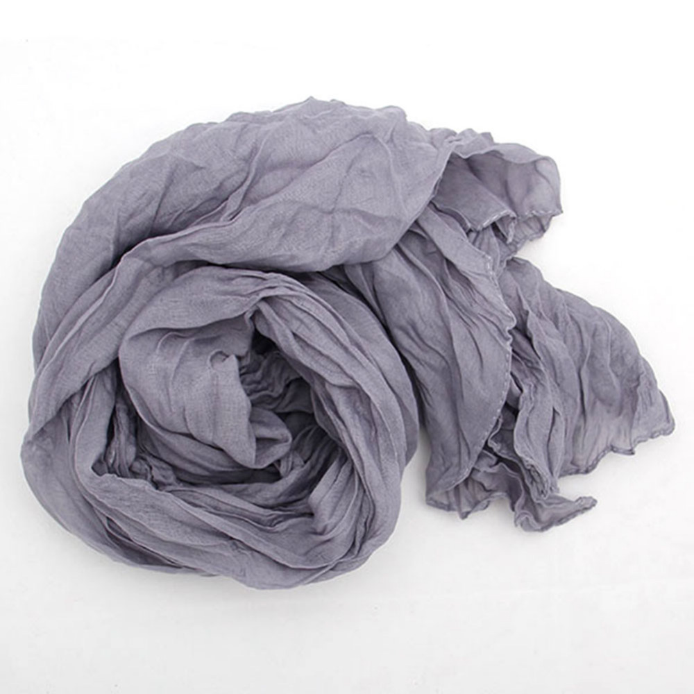 Cheapest 2015 Winter American and Europe Women Fashion Solid Cotton Voile Warm Soft Candy Scarf Shawl Cape 14 Colors Available(China (Mainland))