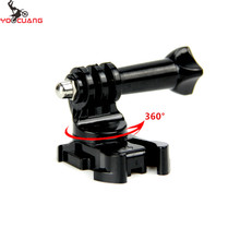Buy YOOCUANG 360 Degree Rotate J-Hook Buckle Base Vertical Surface Mount Adapter GoPro Hero 5 4 3+for xiaomi yi YX203B for $1.19 in AliExpress store
