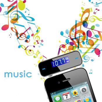 Mini Wireless Bluetooth FM Transmitter In-car LCD 3.5mm Vehicle Car Kit Modulator Handsfree MP3 Audio Music Player For Phone
