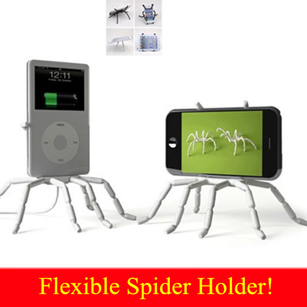 Universal Spider Mobile Phone Holder For Iphone 6 Plus Stent For Samsung S6 Edge S5 Car Holder Stand Support Cell Phone Holder(China (Mainland))