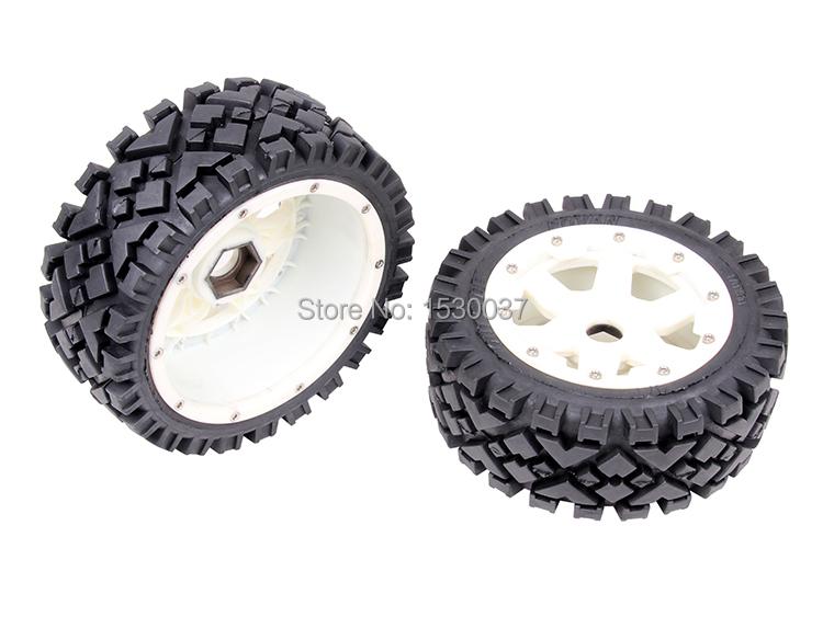 R/C racing car parts,baja Front All Terrain wheels set  for 1/5th RC Gas Model Car/for baja<br><br>Aliexpress